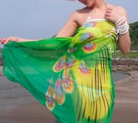 Wholesale 2015 New Women s Sarong Cover Up Miss Swimwear Beach Scarf Pareo Dress Skirt colors