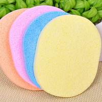 Wholesale Magic Face Cleaning Wash Pad Puff Seaweed Cosmetic Puff Cleaning Facial Flutter Wash Face Sponge Makeup Tools PE0024 smileseller
