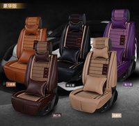 purple car seat covers - 2015 Comfortable leather Car Seat Covers four seasons luxury cushion seat cover