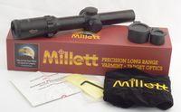 rifle scope - Millett x24 Illuminated Dot mm Tube Rifle Scope
