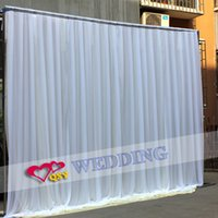 Wholesale 2016 fashion selling new decoration wedding ice silk curtain wedding backdrops for wedding decoration wedding invitations