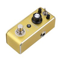 Wholesale Rowin LEF B Mini Portable Guitar Effect Pedal Overdrive Pedal True bypass Exquisite workmanship Durable Aluminium alloy I1585