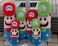 baby brother doll - Super Mario Doll Hold Pillow cm Mario Brothers Plush Toys Cheap Baby Toy Valentine Christmas Gift