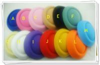 Wholesale quot cm color mini top fascinator hats hot sale party hats DIY hair accessories pieces MH018