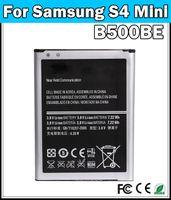 Wholesale Fast shipping mAh B500AE Mobile Phone Battery For Samsung Galaxy S4 IV mini I9190 I9192 I9195 I9198 Grade A