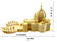architectural house models - wooden puzzle toys d adult educational house architectural model of St Peter s Basilica