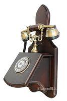 antique wood telephone - Cheap exports rural telephone phone antique wood wall phone telephone telephones Korea