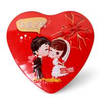 Cheap wedding cartoon box Best original heard-shaped candy box