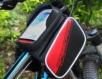 Wholesale Hot Sales Pop Bicycle Cycling Bike Frame Front Tube Waterproof Mobile Phone Bag Holder for iphone cellphone
