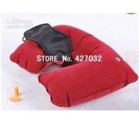 Wholesale Travel Neck Air Cushion Pillow eye mask Ear Plug