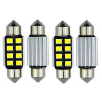 Wholesale Pure White Canbus mm mm mm mm Led Lampada For Samsung LED DE3021 C5W Interior Lights v Led Car Light Parking