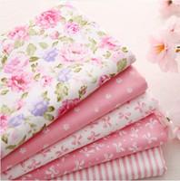 Wholesale 26cm X cm cotton patchwork pink cotton fabric meter YARD fat quarter bundle tilda sewing home textile bedding quilting