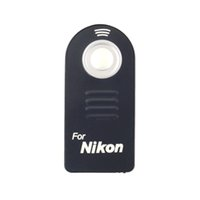 Wholesale New IR Wireless Infrared Shutter Release Remote Control for Nikon ML L3 D7100 D7000 D90 D3300 D3200 V3 V2 DSLR Camera D1356