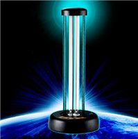 Wholesale Brand New AC220V W W ultraviolet germicidal lamp remote control timer Touch timing no ozone quartz uv lamps