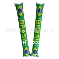 Wholesale Hot Sale World Cup in Brazil Inflatable Stick Up Stick Cheering Stick Lala Rods SJ1 order lt no