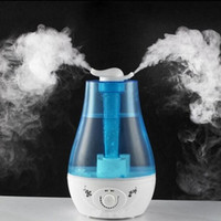 nebulizer ultrasonic - Large Capacity Ultrasonic Humidifier Essential Oil Diffuser Mist Maker Nebulizer Aroma Diffuser Air Humidifier with Nightlights