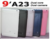 Cheap dhl free cheap Big discount!! Dual Core Allwinner A23 9 inch Android 4.2 Tablet pc 512MB 8GB + Dual camera mini PC Free Drop ship