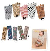 kids leg warmer - 2015 cartoon socks for kids Baby Boys Girls toddler leg warmers striped leg warmers baby socks knee high leg warmer cotton