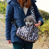 Wholesale Strip Sling Tote Single Shoulder Bags for dog bag pet stroller carrier Cat drop shipping