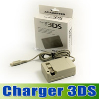 Wholesale 3DS Wall Home Travel Battery Charger AC Adapter for Nintendo DSi XL DS DS XL US pin plug goodbiz
