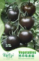 Vagetable Seeds tomato seed - 1 Original Pack seeds pack Black Pearl Tomato Seeds Non gmo Heirloom Tomatoes LM02