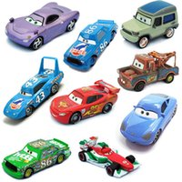 Wholesale Pixar Cars2 toy car model cars Schumacher Land Rover alloy McQueen die genuine cars toy cars