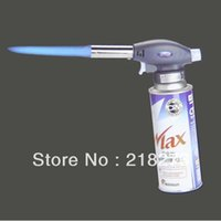 Wholesale Portable Gas Torch Butane Burner Lighter Flamethrower BBQ Camping Soldering Tool