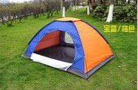 Wholesale Person cm Outdoor Instant Family Camping Dome Waterproof Tent