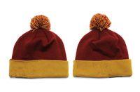 best fishing hats - New Football Beanies Teams Pom Pom Beanies Team Hat Winter Caps Popular Beanie Caps Skull Caps Best Quality Sports Caps Allow Mix Order