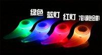 Auto Hot para Bicicleta luces LED de la motocicleta eléctrica Ruedas Radios Lámpara Silicona 4 colores parpadean alarma accesorios ciclo luz Envío Gratis