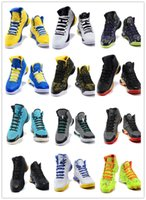 Wholesale Hot Stephen Curry One Surprise Party White Blue Basketball Shoes Men Cheap Black Yellow Championship Sneakers