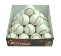 Wholesale 5pcs quot Baseball Hard Ball For Practice Training and Match Competition White