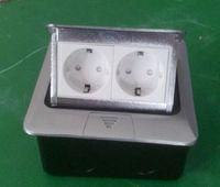 Wholesale Popular France power floor socket silver color