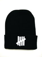 Wholesale NEW2015 UNDEFEATED Beanies hats ball and no ball Good Quality Men women sports winter knitted Caps