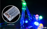 string lights - LED Christmas lights party LED string lights leds M led fairy lights new arrival battery operated fairy lamp colors