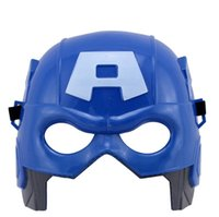adult animation shows - The Avengers Mask Captain America Face Mask Halloween Animation game show masked balls hard holiday Party mask for cosplay Factory Outlet