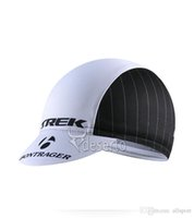cycling hat - Trek New Arrival Road Cycling Caps For Men Black Color Fashion Cycling Bicycle Proctective Gear Free Size High Quality Cycling Hats