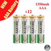 Wholesale BTY AAA mAh Rechargeable Ni MH Battery for LED Flashlight Toy PDA B