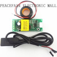 Wholesale PEACEFAIR AC A Electric power monitoring and communication module power energy Voltage Ammeter communicate with PC
