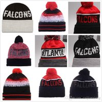 Wholesale 2016 Winter High Quality Beanie For Men Women Falcons Skullies Knit Cotton Hats HipHop Free fast Shipping