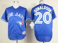 TORONTO BLUE JAYS JERSEYS - 2015 Newest Men s Toronto Blue Jays Josh Donaldson Blue Grey White Red Baseball Jerseys