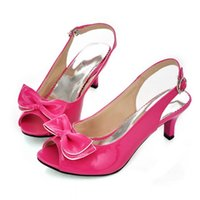 Others big bow ties - Women Sandals womens sexy peep toe low heel sandals bow slingbacks women summer sandals shoes big size A