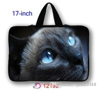 Wholesale Stylish Cute Cat quot Main Board Laptop Bag Case Pouch Sleeve For HP Pavillion Envy Dell XPS