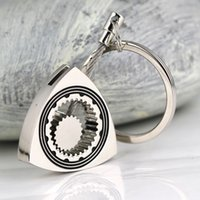 acura rotors - nterior Accessories Key Rings Rotary Rotor Keychain Polished Silver Auto Part Automotive Triangle Wankel Engine Keyring Key Rin