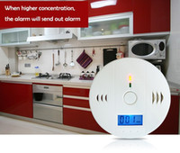 Wholesale Home Security Safety CO Gas Carbon Monoxide Alarm Detector CE Rohs EN50291 with Retail Box Good Quality