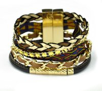 Wholesale hipanema bracelet for women jewelry european style hot sale DIY weave bracelets hand made