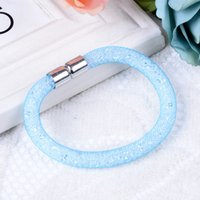 Wholesale Colorful infinity shambhala bracelets bracelets infinity charm stardust bracelet vintage fashion jewelry DR