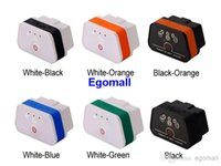 Wholesale 2016 Lowest Price Vgate iCar2 WIFI OBD2 OBDII Auto Diagnostic Scanner Tool New Level ELM327 Support Support Both IOS and Android