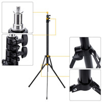 """Cheap Portable 2.1m   6.9ft Photo Studio Light Stand Photography Tripod Stand with 1 4"""" Screw for Video Portrait Product"""