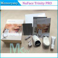 Wholesale Top quality Nuface Trinity Pro Facial Toning Device Kit Hot selling nuface White Brand New Sealed massagem massageadores